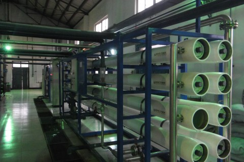 30m³/h纯水设备(单级)