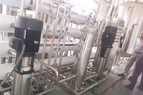 5m³/h纯水设备(双级)