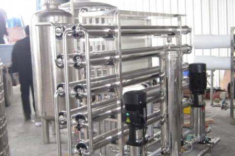 2m³/h纯水设备(双级)