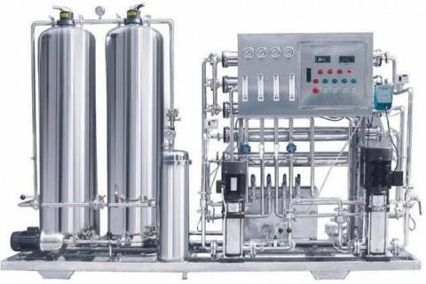 纯净水设备对于原水进行的预处理系统结构是什么?