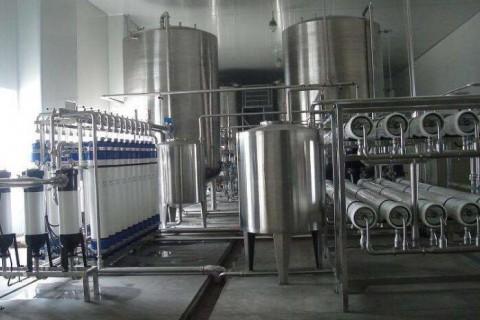 纯净水设备的各种清洗方法